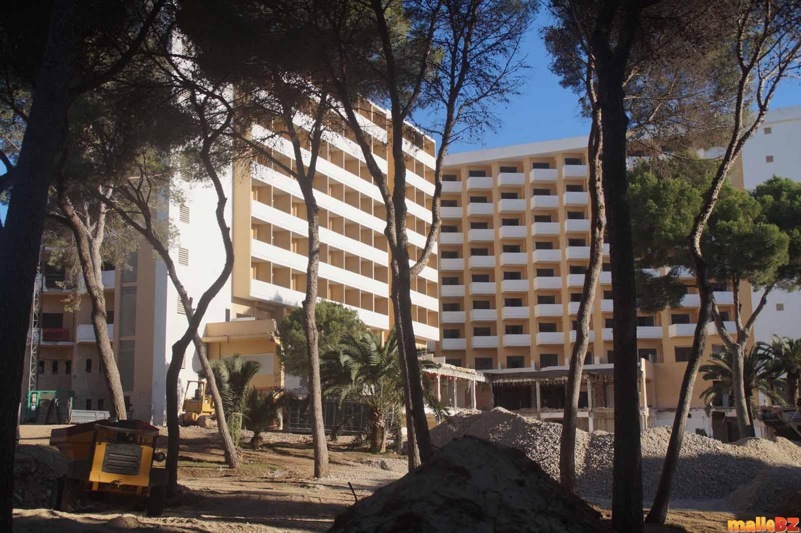 Bilder Und Fotos Vom Umbau Und Neubau Hotel Riu Playa Park