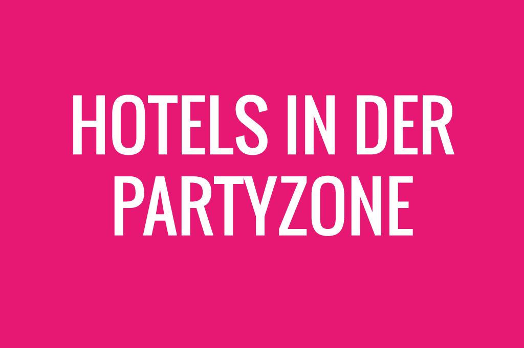 Hotels in der Partyzone am Ballermann