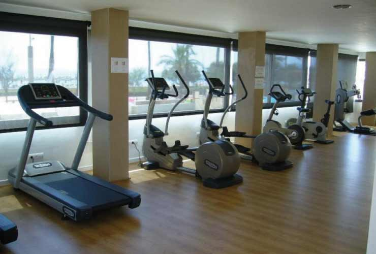 Fitness Studios am Ballermann