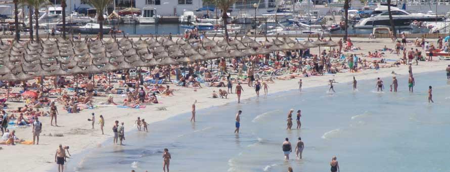 Morgen gilt auf Mallorca Hitzewarnstufe gelb