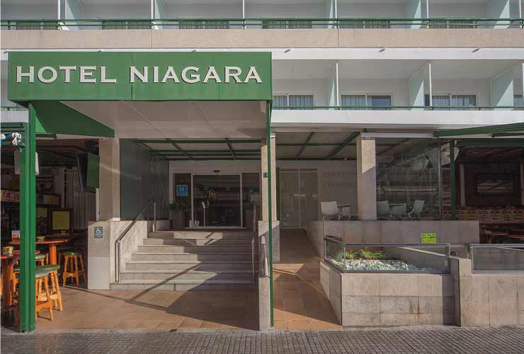 Hotel NH Niagara am Ballermann Mallorca