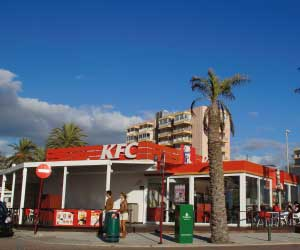 Kentucky Fried Chicken am Ballermann 15 Mallorca Vorschaubild